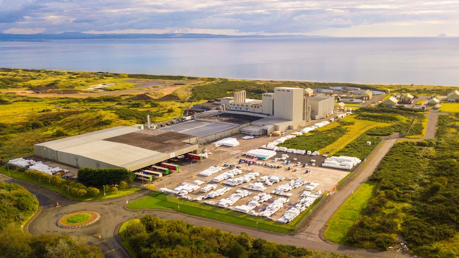 Berry bpi, Ardeer lighting energy saving project with 75% energy and 740 tonnes CO2 saved