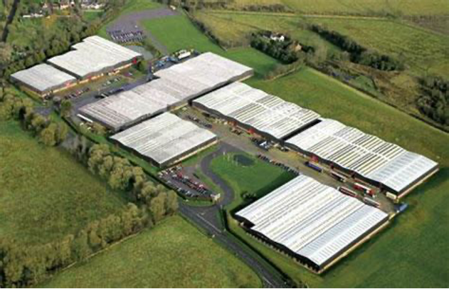 RPC M&H Plastics lighting energy saving project with 76% energy and 990 tonnes CO2 saved.