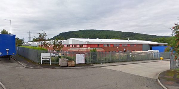 M&H Llantrisant, Wales lighting energy saving project with 50% energy and 27 tonnes CO2 saved
